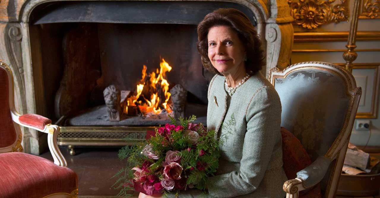 Drottning Silvia fyller 75