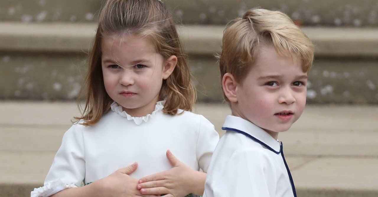 prins George och prinsessan Charlotte