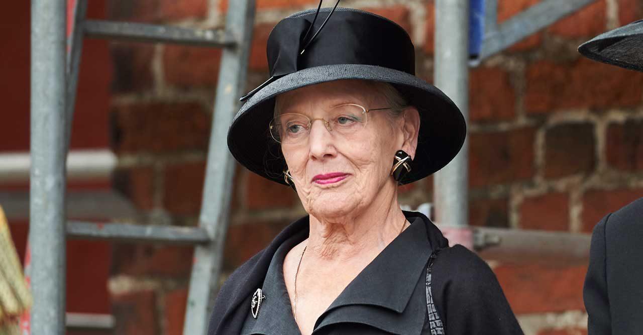 Drottning Margrethe sörjer