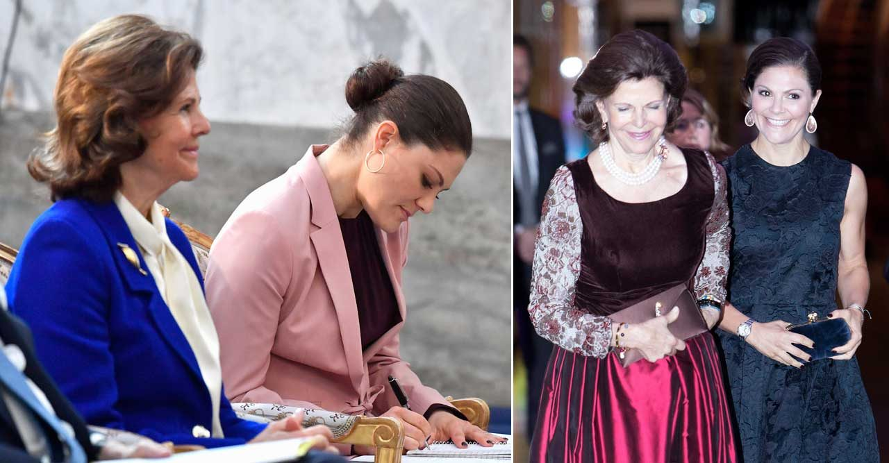 kronprinsessan victoria drottning