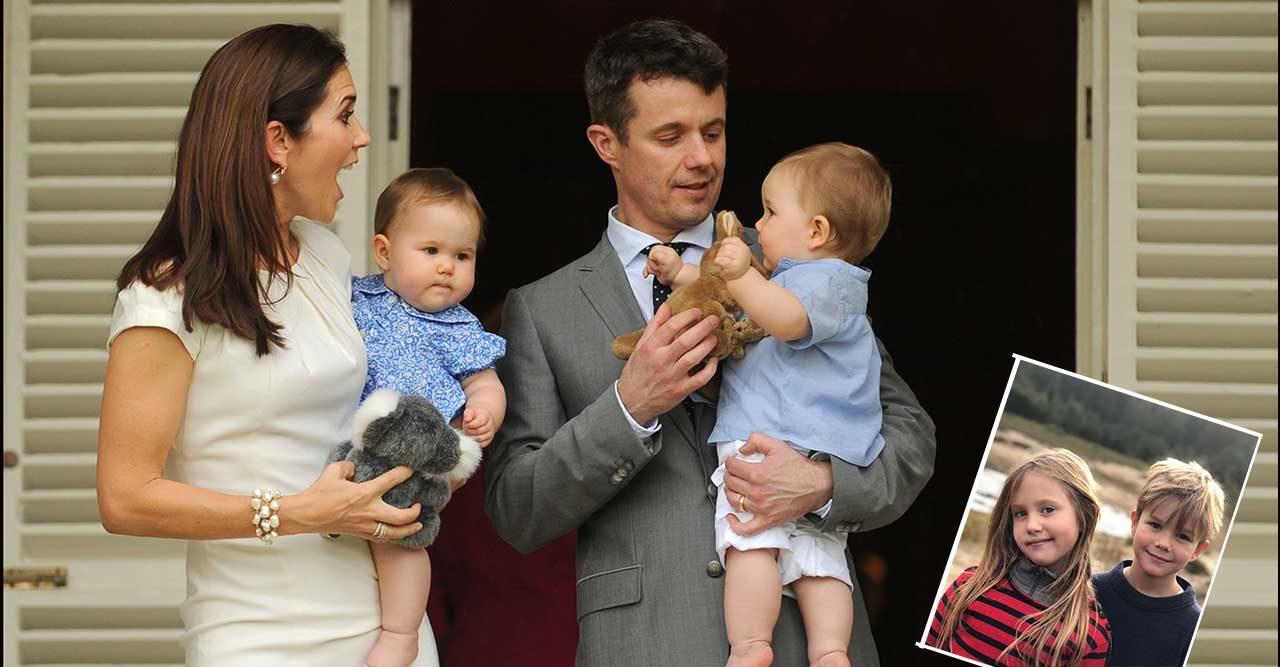 Nya bilder på födelsedagsbarnen Vincent och Josephine