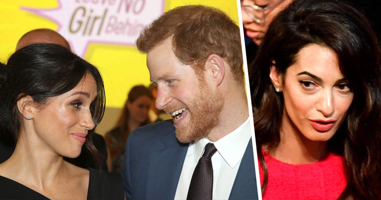 Harry och Meghans ärofyllda fråga till paret Clooney