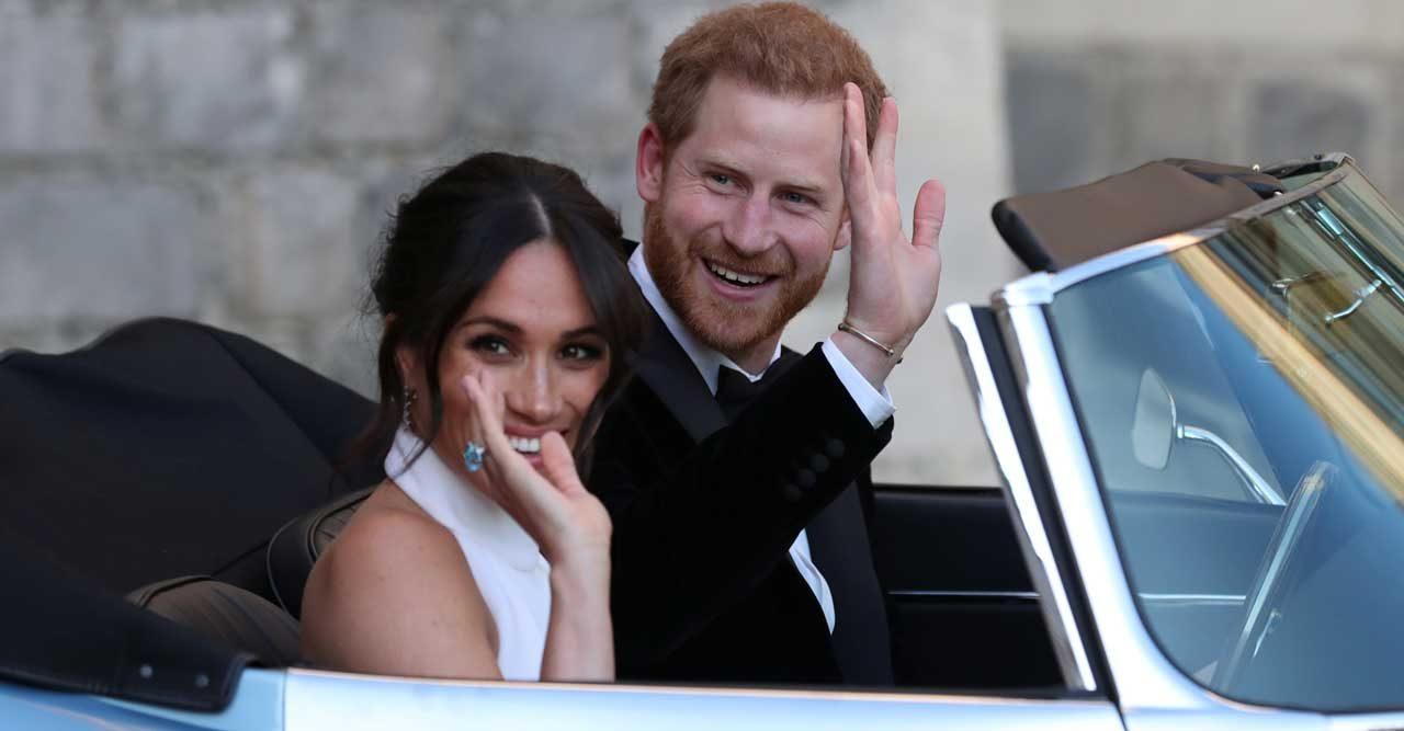 prins Harry och Meghan