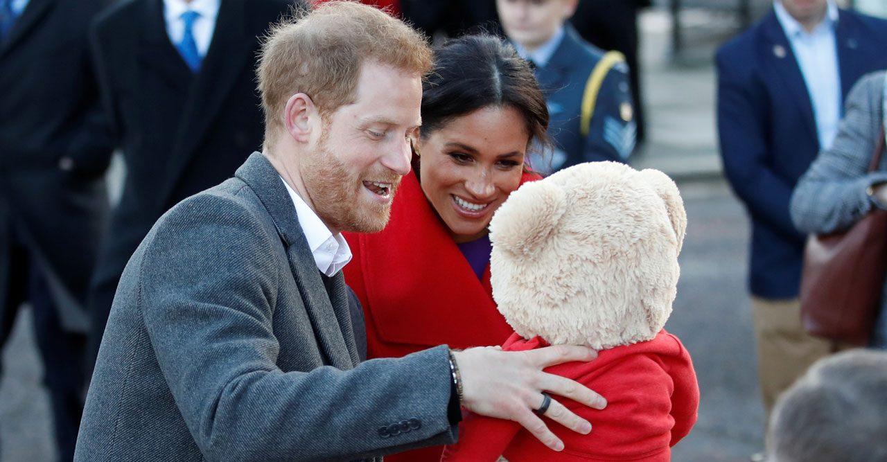 Prins Harry och Meghan får barn i vår.