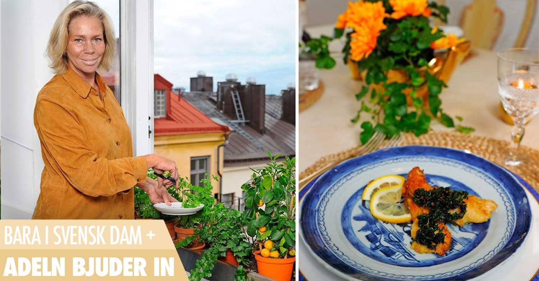 Caroline Bielke bjuder på vilt över Stockholms takåsar