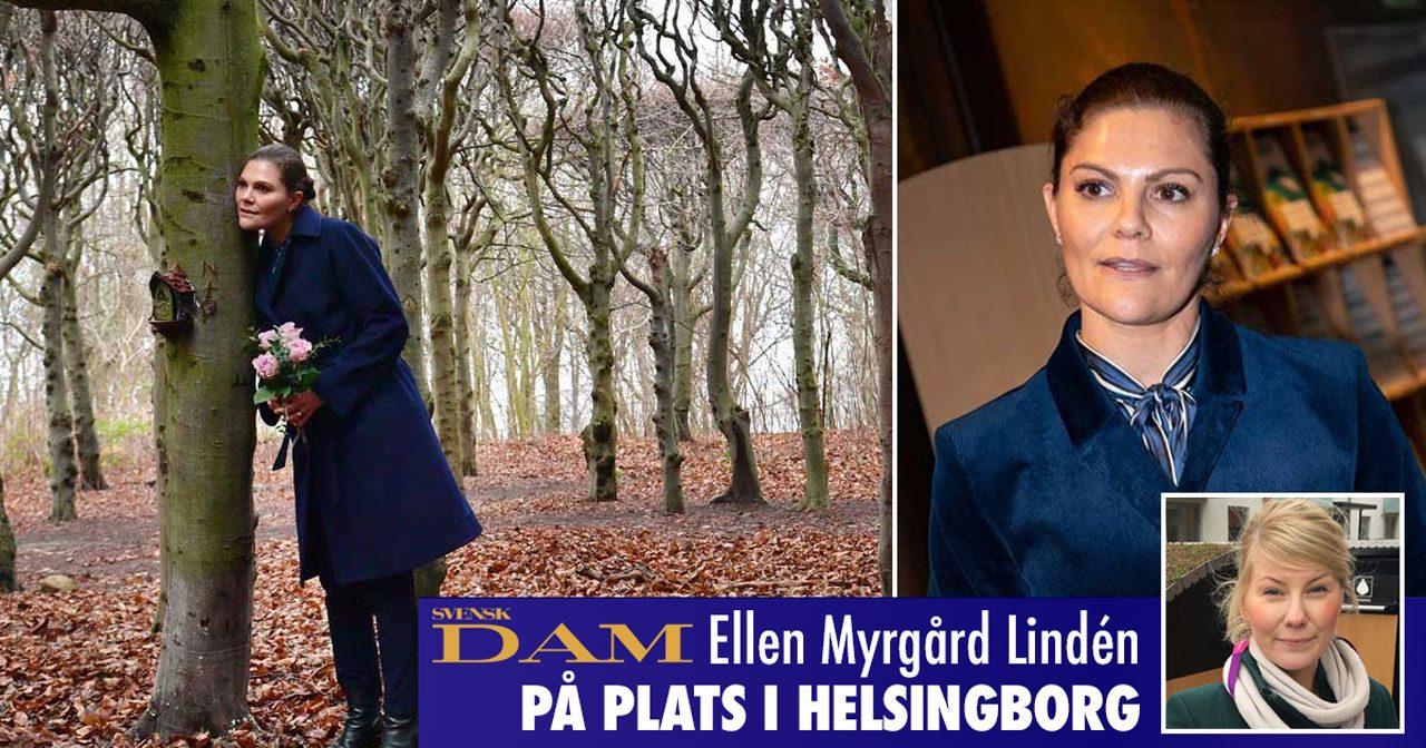 Victoria besökte Helsingborg