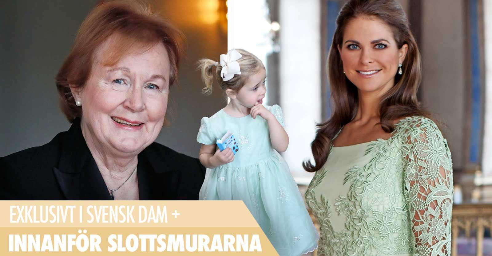 Ann Schierenbeck ansvarar för de kungliga damernas garderober