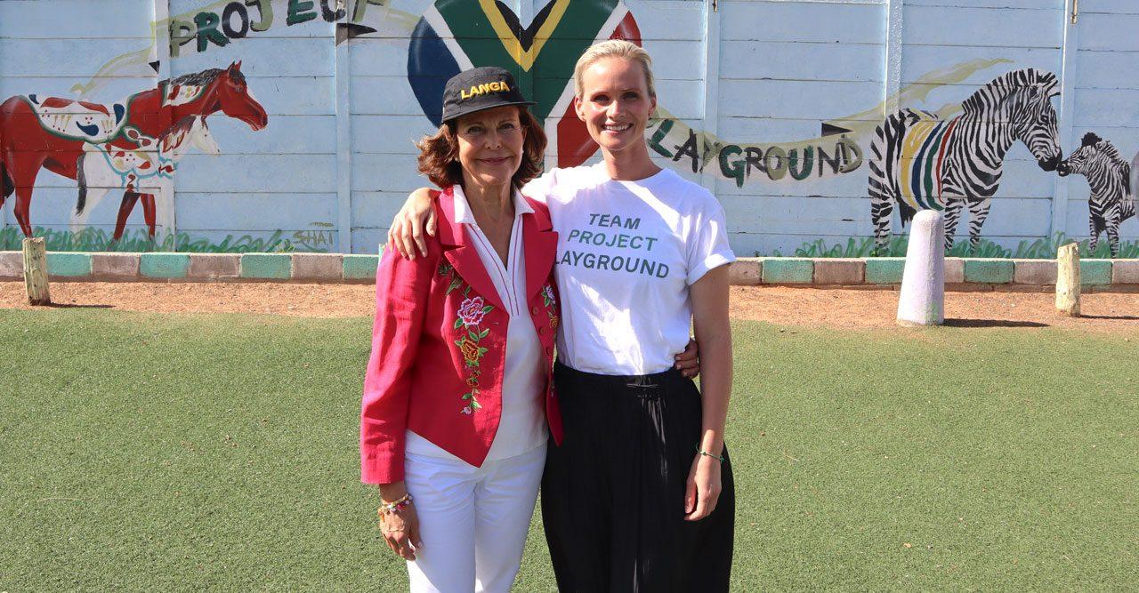 Drottning Silvia i Sydafrika