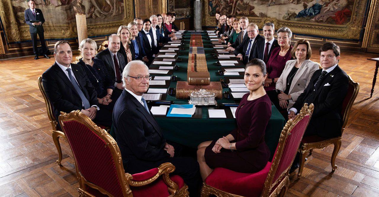 Konselj kungliga slottet januari 2019