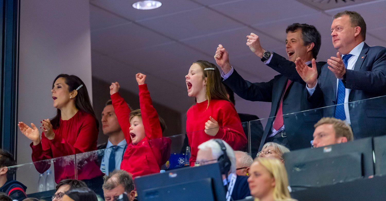 Frederik och Marys vilda jubel under VM-finalen i handboll
