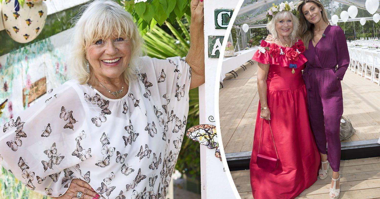 """Christina Schollin: """"Jag skulle komma i klänningen som jag hade på min 50-årsfest"""""""