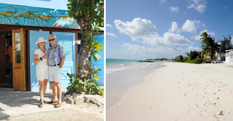 Välkomna till Alexandra Charles von Hoffsten och makens paradis på Barbados!