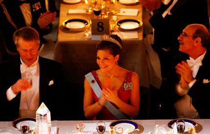 De blir prinsessornas bordskavaljerer