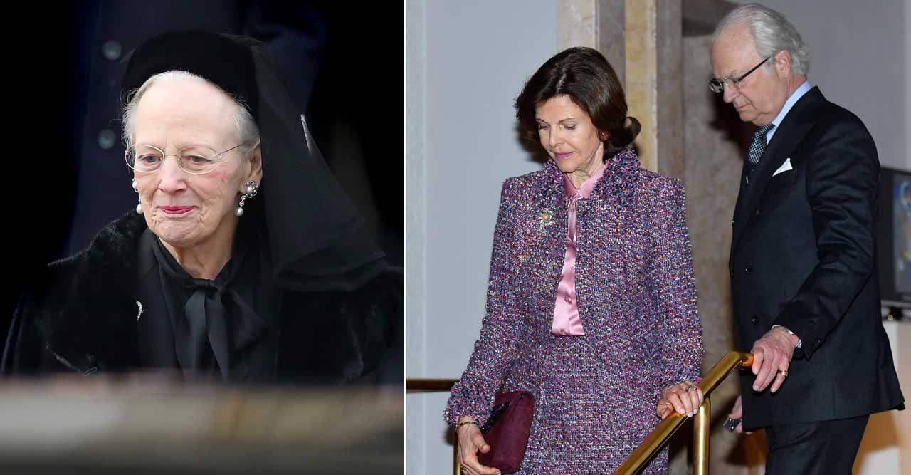 kungaparet prins henrik drottning margrethe