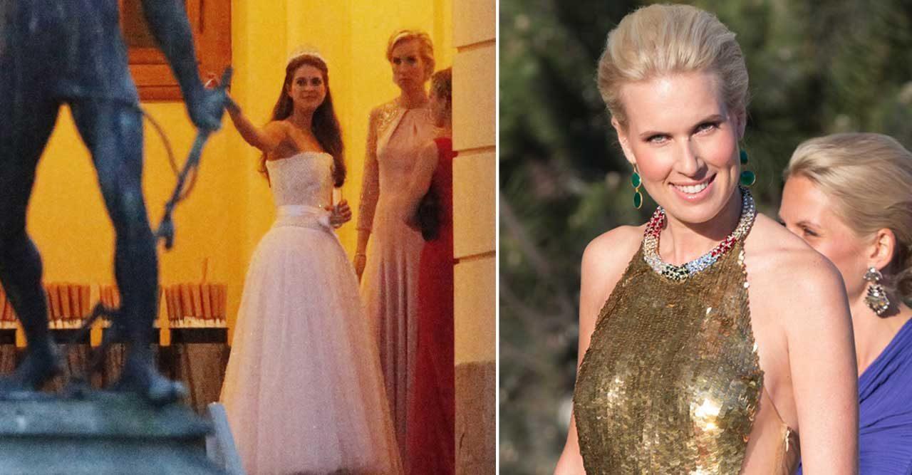 Privata bilderna från helgens största party när Madeleines väninna firade 40