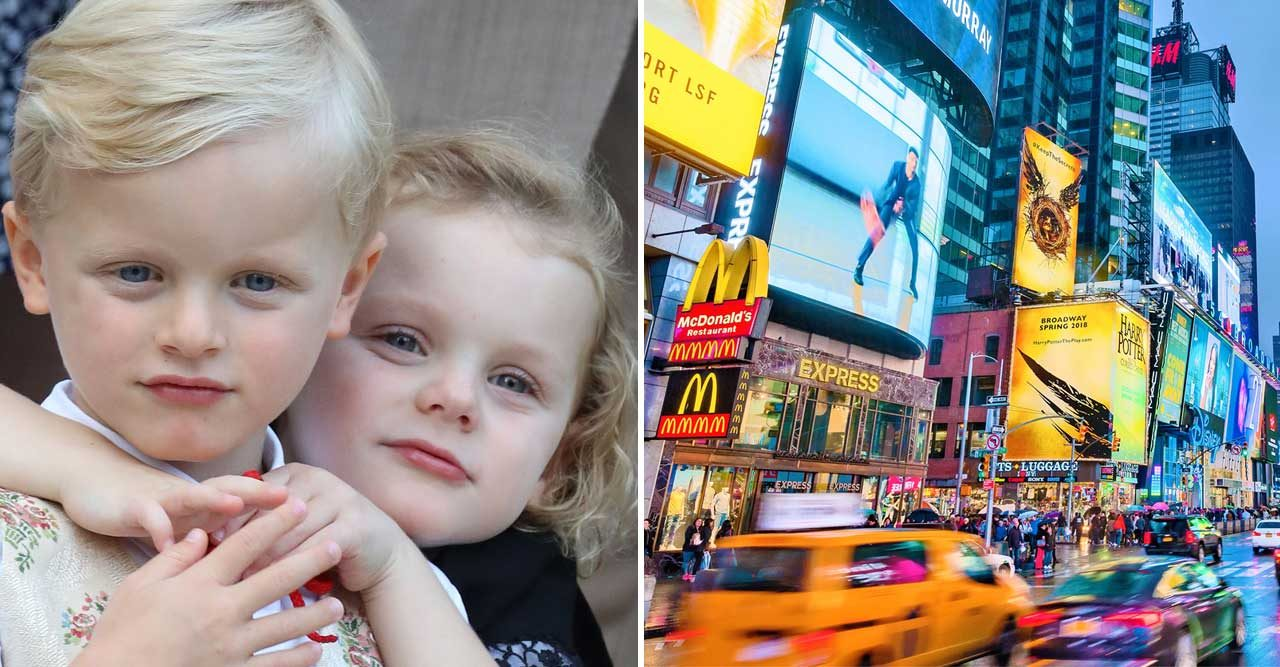 Se Charlenes privata bilder! Monaco-tvillingarna på vift i New York