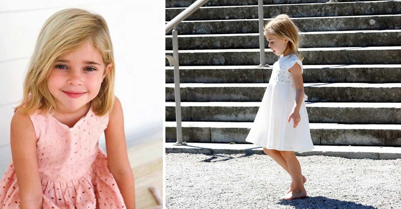 Grattis Leonore – se hovets nya bild på 5-åringen!