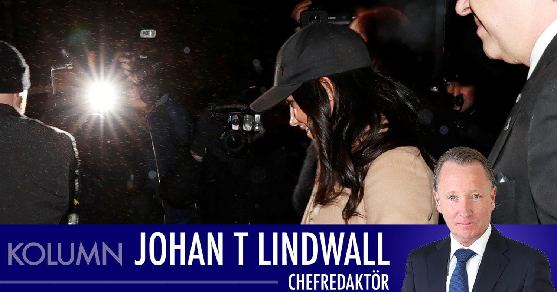 """Johan T Lindwall: """"Det som sker kring Meghan är inte sunt"""""""