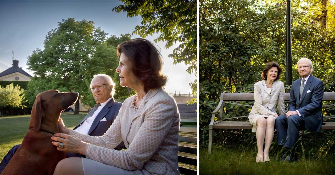 Så bor kungaparet – vi kikar in i de privata delarna av Drottningholm