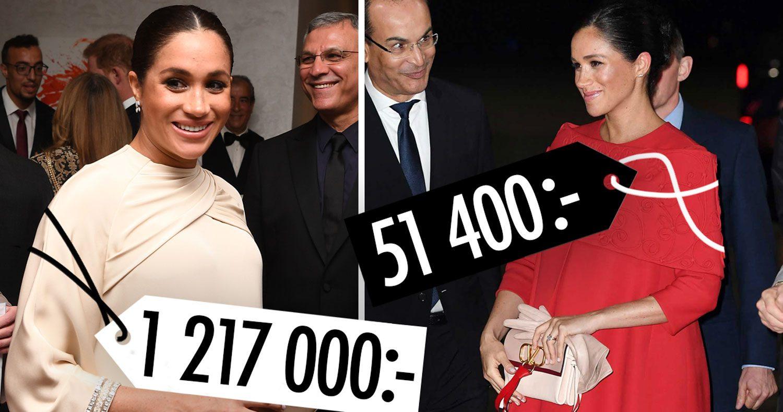 Meghans galet dyra resegarderob: 1,3 miljoner – på 3 dagar!