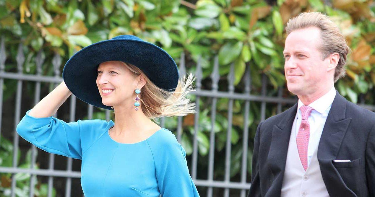 Lady Gabriella Windsor och Mr Thomas Kingston.