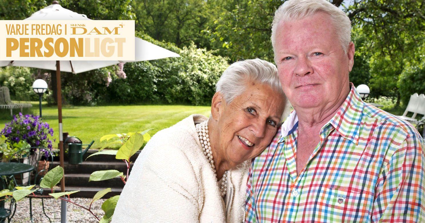 """Nils Åke Häggbom: """"Kjerstin håller mig sällskap trots att hon är borta"""""""