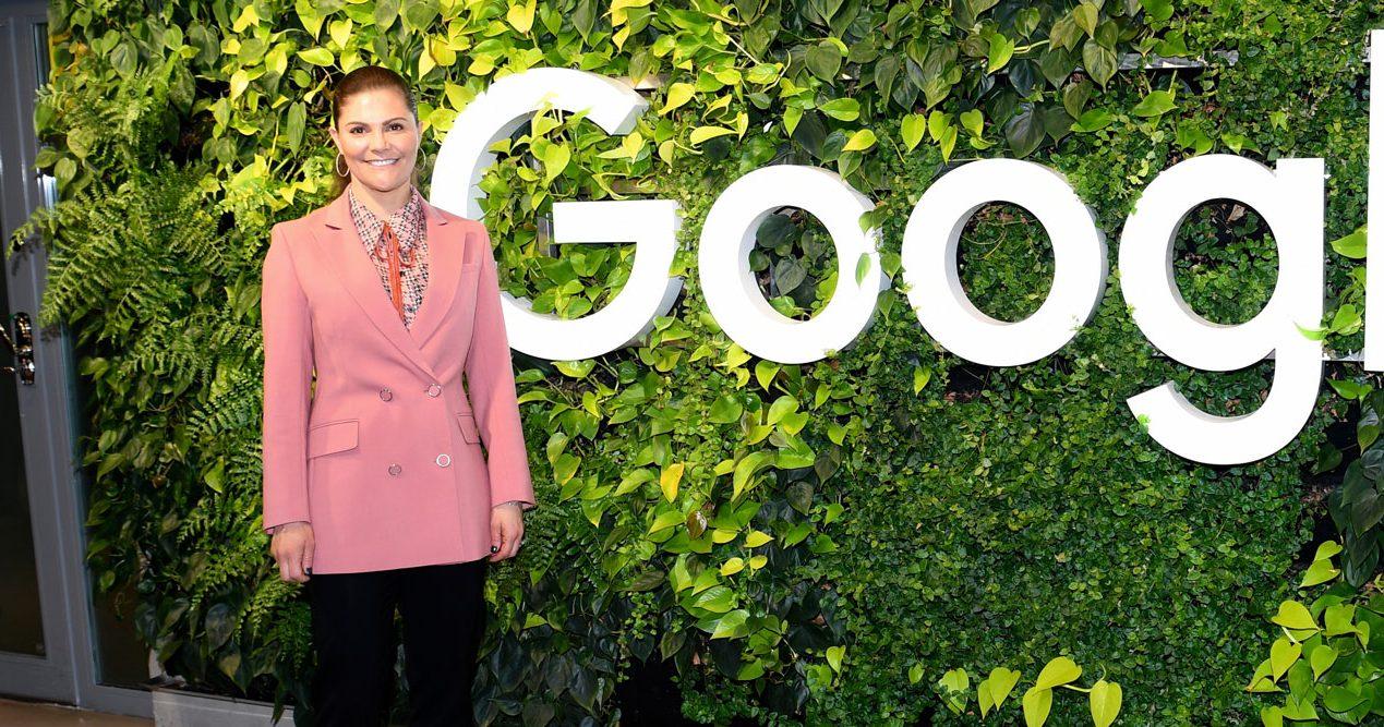 Kronprinsessan Victoria på Google