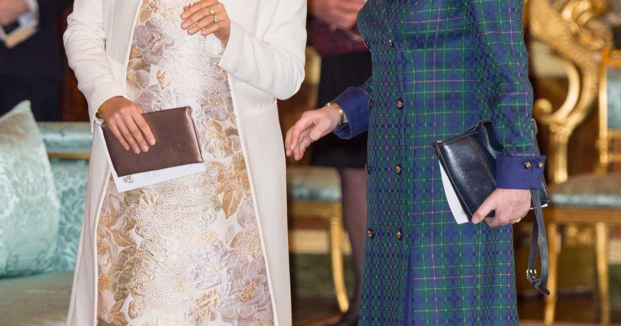 Webb-tv! Prinsessan Anne <br>fick uppleva krigets fasor på plats i Afghanistan