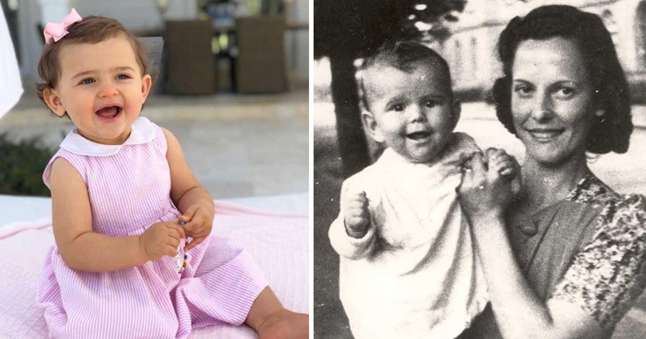 Prinsessan Adrienne – en minikopia av mormor Silvia!