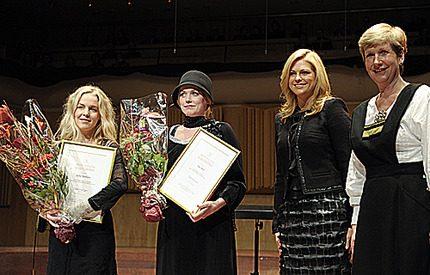 Prinsessan Madeleine delade ut prins Eugens kulturpris