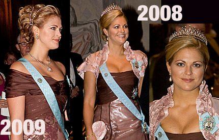 Visst var det den &#8220;gamla&#8221; <br>Lars Wallin-klänningen som Madeleine bar&#8230;