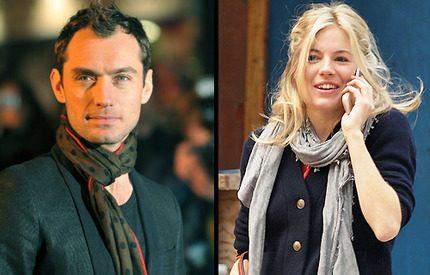 Sienna Miller och Jude Law flyttar ihop igen!
