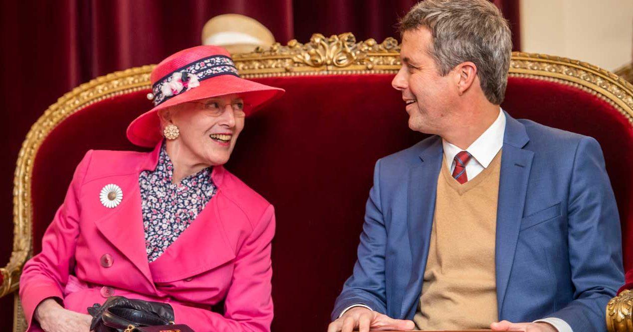 drottning Margrethe kronprins Frederik