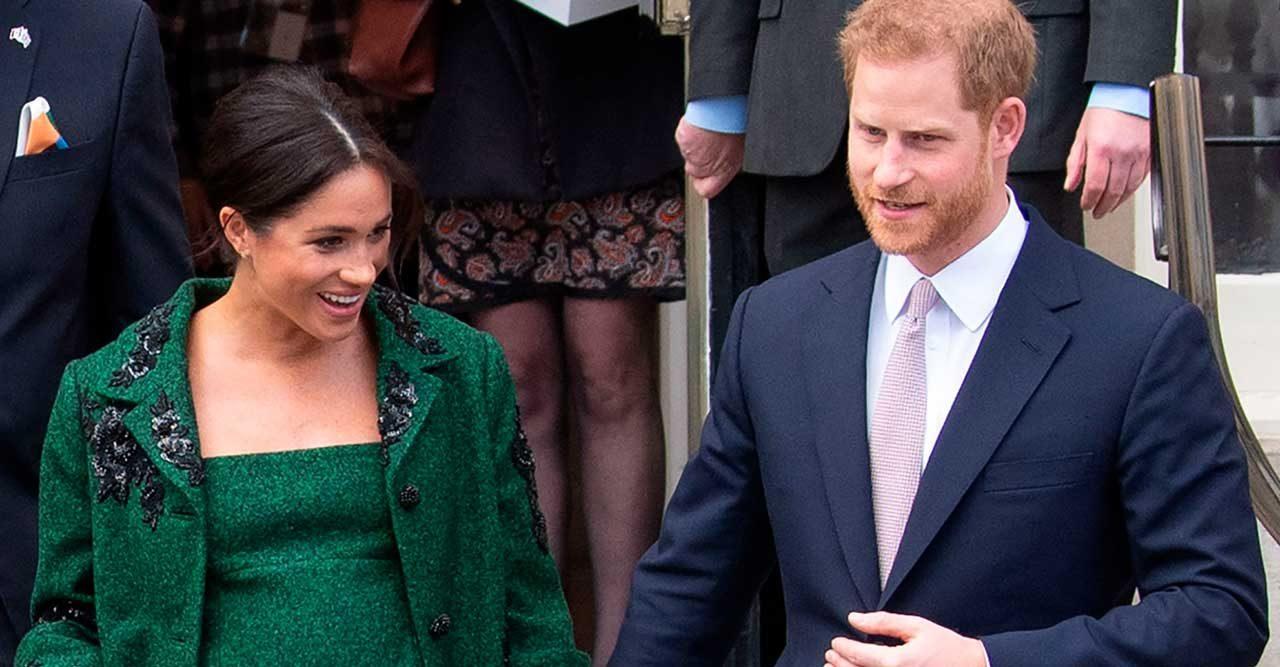 Meghan och prins Harry
