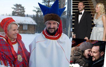 Bildspel! <br> Mette-Marits och Haakons 2009 bjöd på spridda skurar
