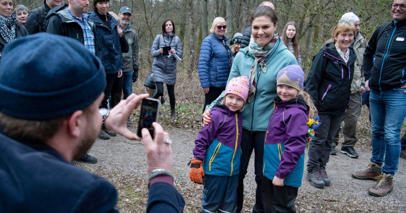 Victoria blev barnens favorit i Halland – se videon här!