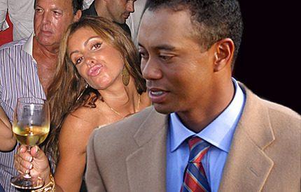 Tiger Woods hand i hand med älskarinnan Rachel!