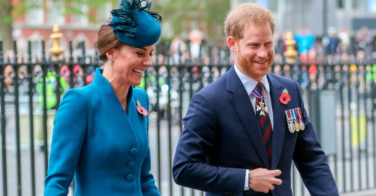 Kate och prins Harry