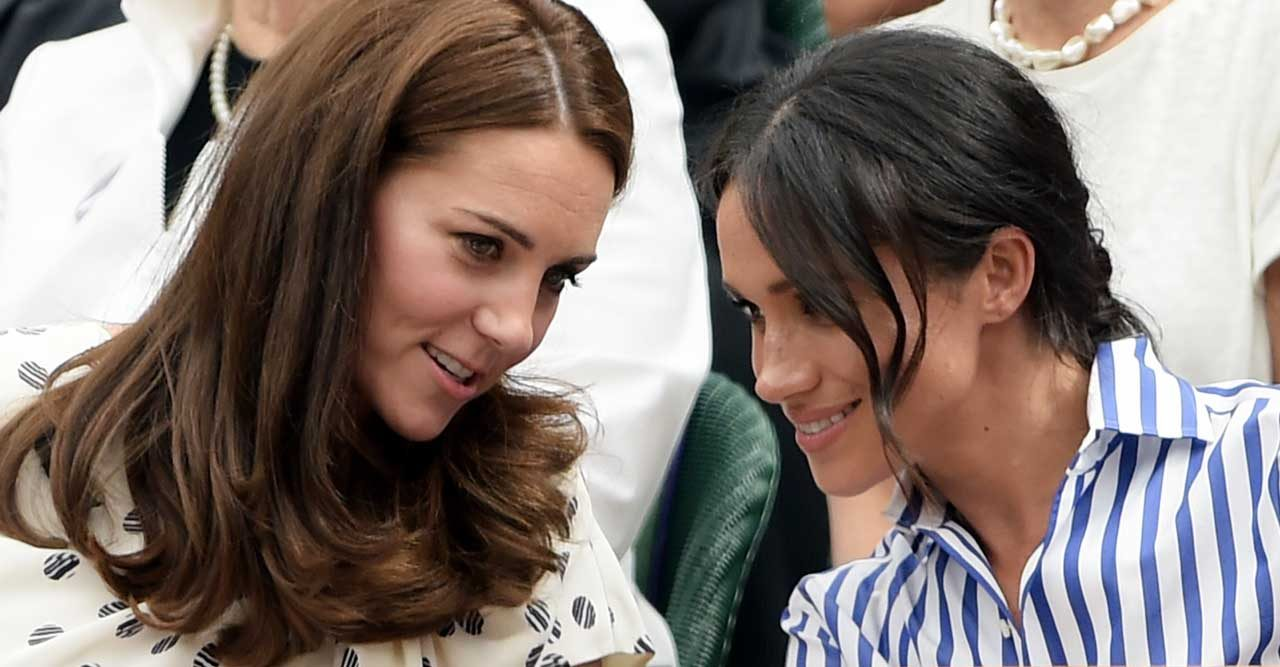 Meghan Markle och Kate Middleton