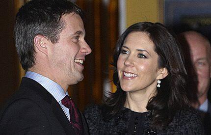 Kronprinsparet Mary och Frederik jagade fynd på rean
