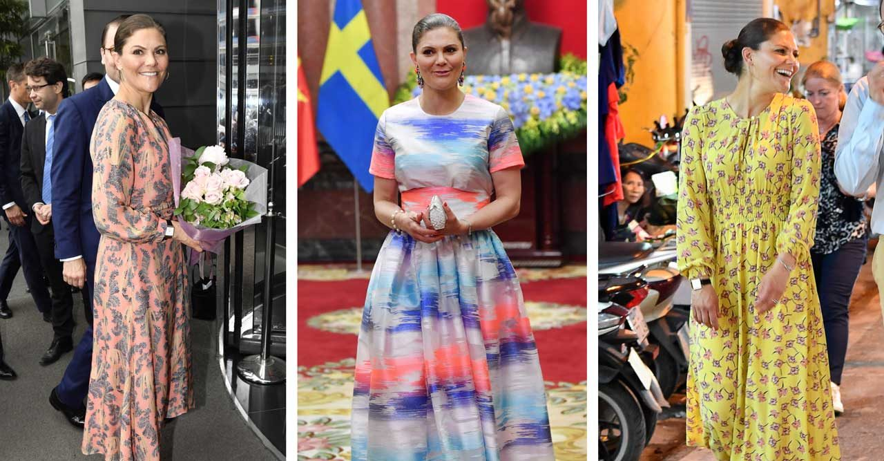 Kronprinsessan Victoria i Vietnam