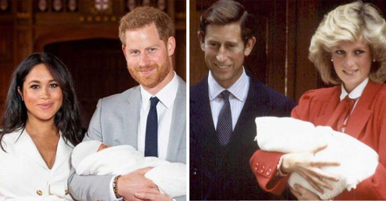 Harry Meghan och Diana