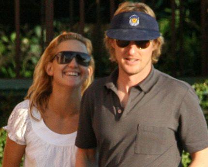 Efter självmordsförsöket - nu gifter sig Kate Hudson och Owen Wilson!
