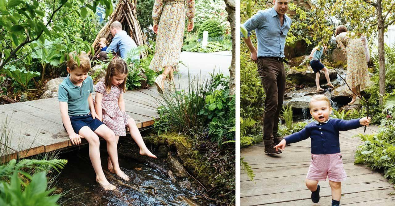 Prins Louis och Tessy väntar barn igen
