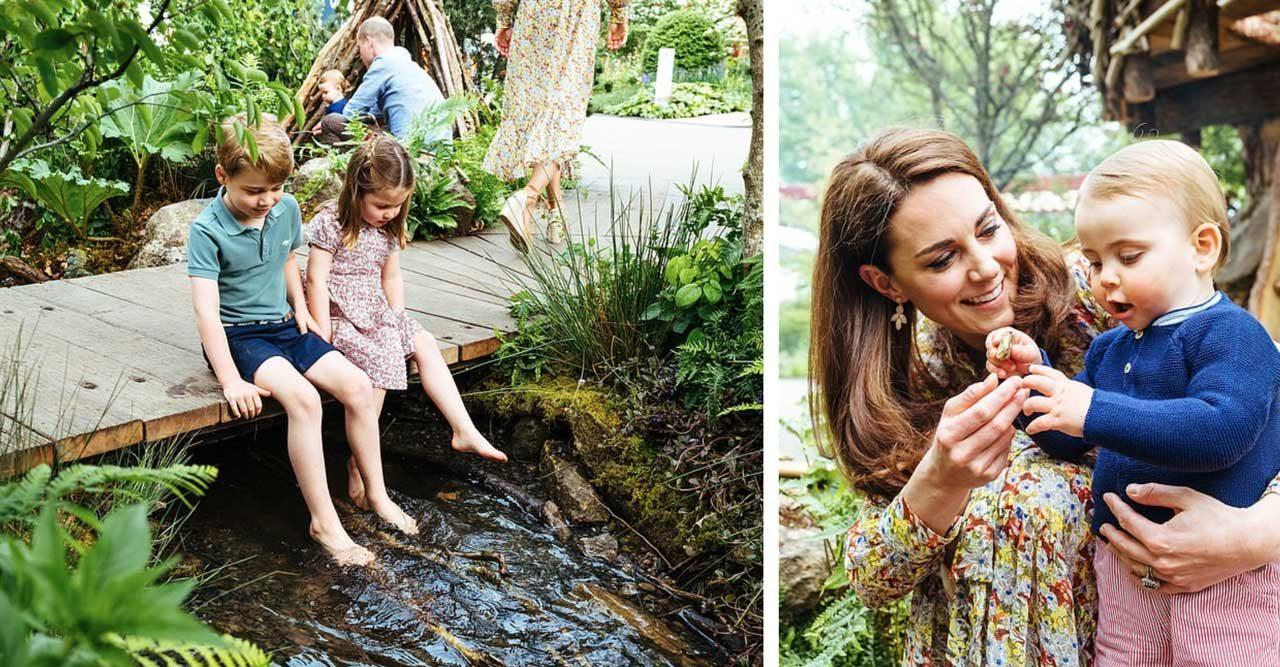 Så har du aldrig sett dem! Se nya underbara bilderna på Kate, William och barnen