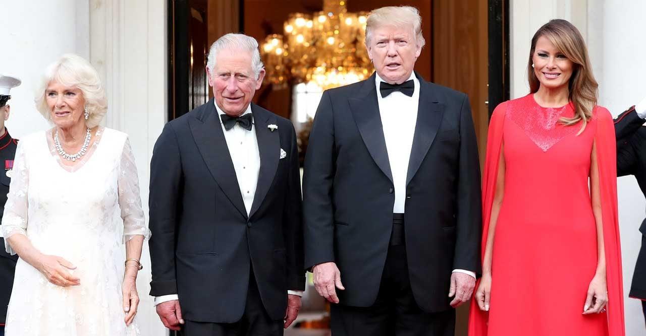 camilla charles Donald trump melania