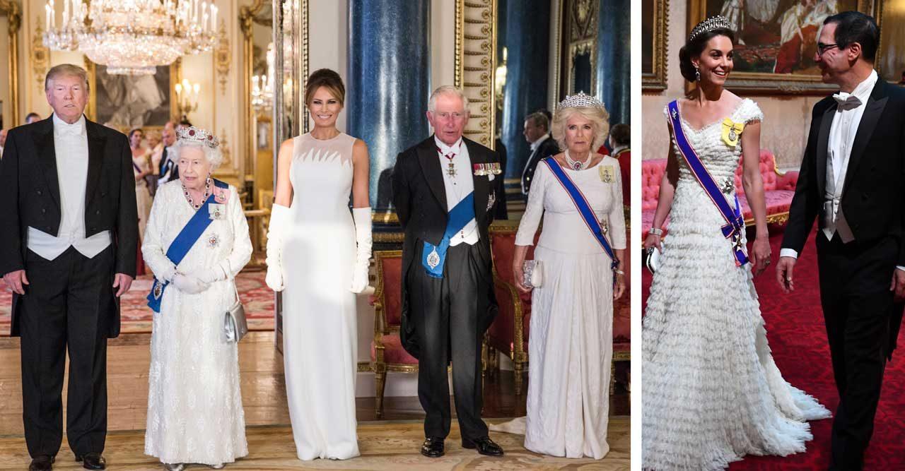 Kate Middleton och Donald Trump