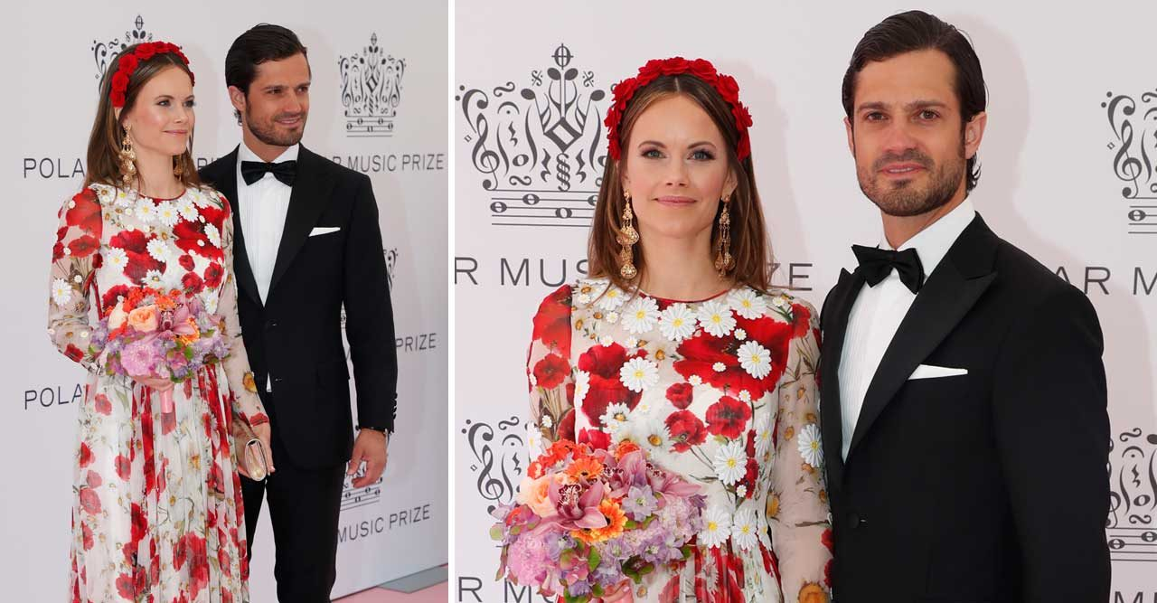 prinsessan sofias klänning från dolce gabbana