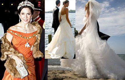 Kronprinsessan Marys galadesigner – en brudklänningsspecialist!