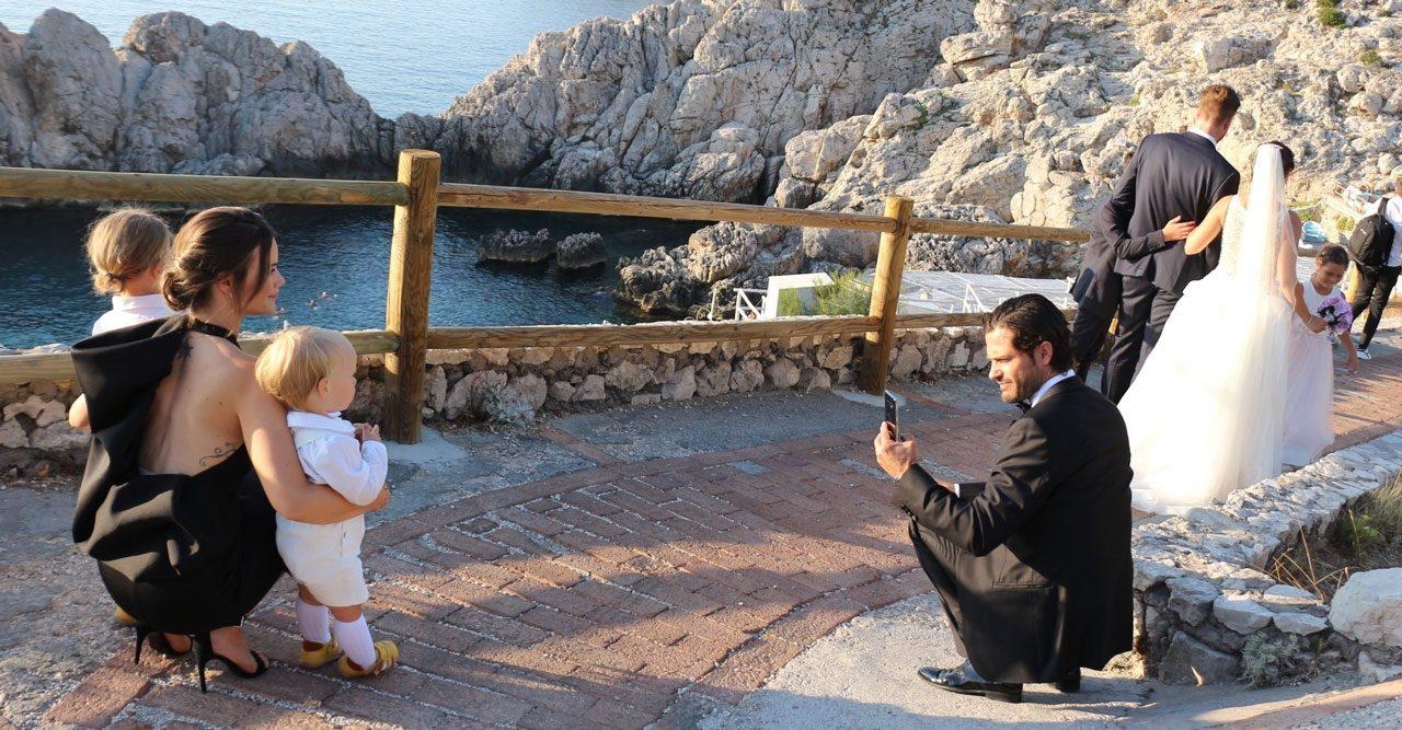 15 magiska bilder! Sofias helg med familjen på lyxön